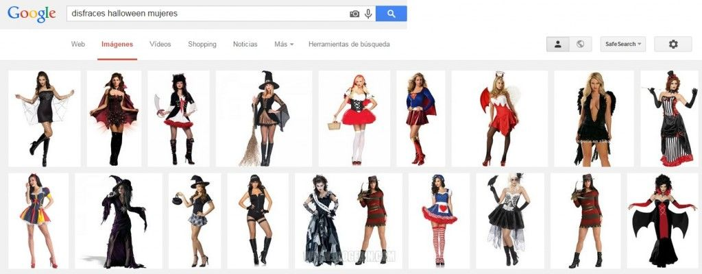 cosificacion sexual disfraces halloween mujeres
