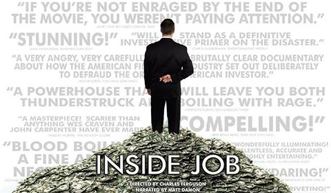 Documental: Inside Job | Trabajo confidencial